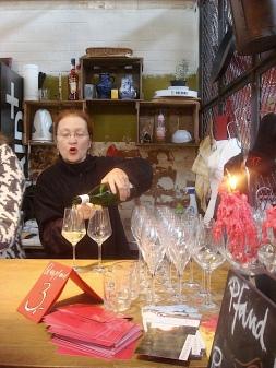 Riesling wine tasting at Markthalle Neun