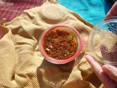 Linsen Salat - Lentil salad