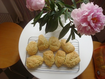 Scones and Flowers