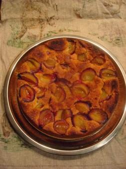 Pflaumenkuche, plum cake