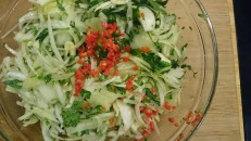 oinon garlic parsley and chili marinade