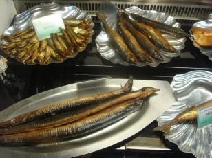 Räucherei in Göhren, Smoked fish shop in Göhren