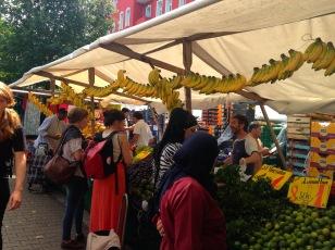 Turkische Markt (Turkish Market, Berlin) on a Friday afternoon