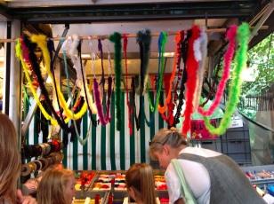 Haberdashery at the Turkish Market, Berlin